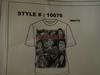 6pcs Print T-shirts Design # 10076